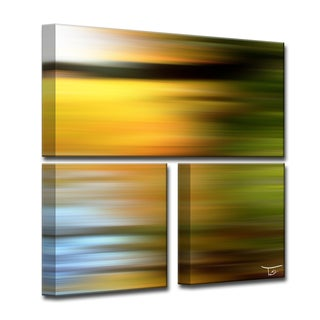 Ready2HangArt 'Blur Stripes LXVI' by Tristan Scott Canvas Art Set