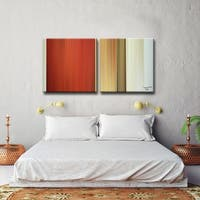 Ready2HangArt  'Blur Stripes LXIV' by Tristan Scott Canvas Art Set