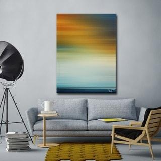 Ready2HangArt  'Blur Stripes LXI-B' by Tristan Scott Canvas Art
