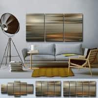 Ready2HangArt  'Blur Stripes LXI' by Tristan Scott Canvas Art Set