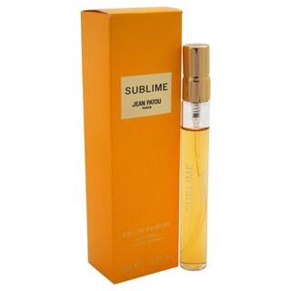 Jean Patou Sublime Women's 0.33-ounce Eau de Parfum Spray