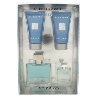 Loris Azzaro Chrome Men's 4-piece Gift Set