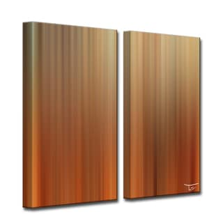 Ready2HangArt 'Blur Stripes LIV' by Tristan Scott Canvas Art Set