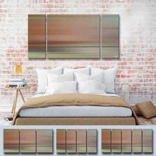 Ready2HangArt  'Blur Stripes LIII' by Tristan Scott Canvas Art Set