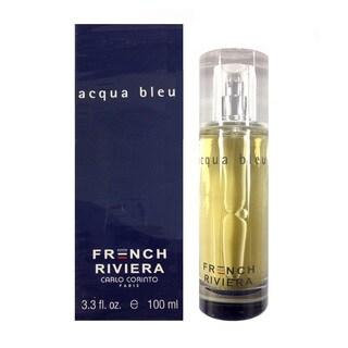 Carlo Corinto French Riviera Acqua Bleu Men's 3.3-ounce Eau de Toilette Spray
