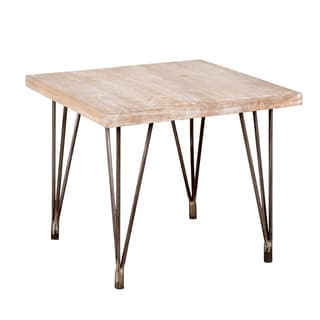 Industrial Hairpin Leg Side Table
