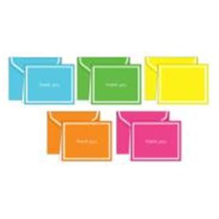 Assorted Brites Thank You Card Pack (Case of 50)