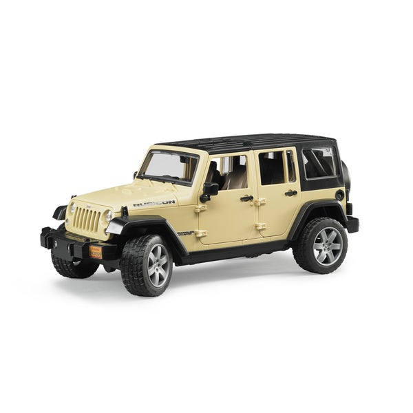 Bruder Toys Jeep Wrangler Unlimited Rubicon