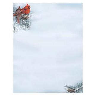 Cardinal Holiday Stationery (Case of 80)