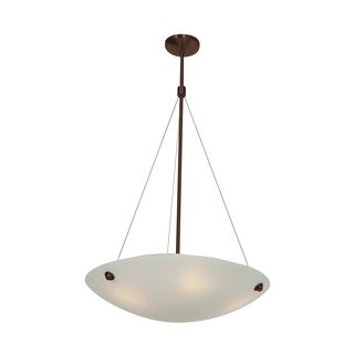 Access Lighting Noya 4-light Bronze 24-inch Pendant