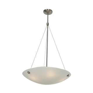 Access Lighting Noya 4-light Brushed Steel 24-inch Pendant