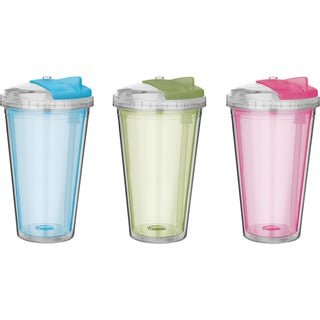 Trudeau 0872428 16 Oz Assorted Sedici Tumbler