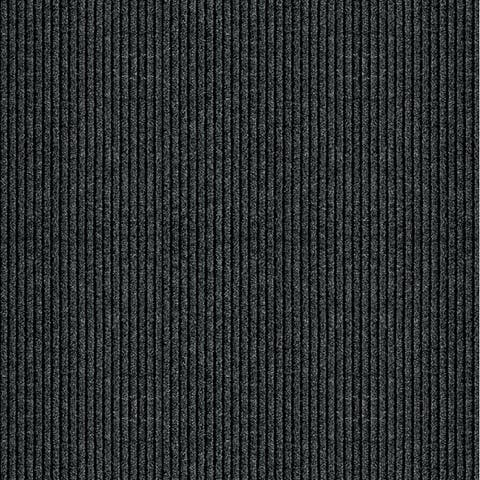 Multy 1001734 2' X 5' Charcoal Concord Mat Floor Runner