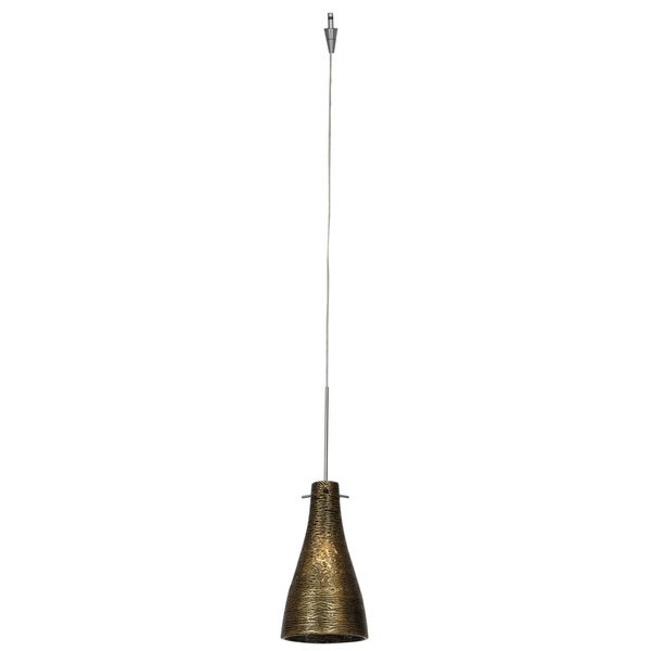 shop access lighting cavo 1 light brushed steel italian wire glassshop access lighting cavo 1 light brushed steel italian wire glass pendant with uni jack plug, gold shade silver free shipping today overstock