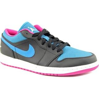 Jordan Men's Air Jordan 1 Low Leather Athletic Shoes