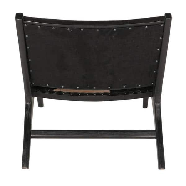 Sensational Shop Handmade Harley Low Rider Cowhide Lounge Chair Short Links Chair Design For Home Short Linksinfo