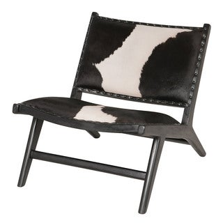 Harley Low Rider Cowhide Lounge Chair (Indonesia)