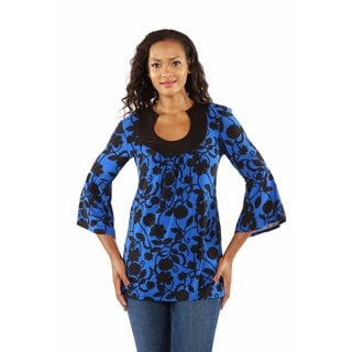 European Vogue High Style Tunic Top