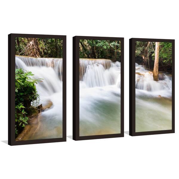 Thailand National Park Framed Plexiglass Wall Art Set Of 3 On Sale Overstock 12923349