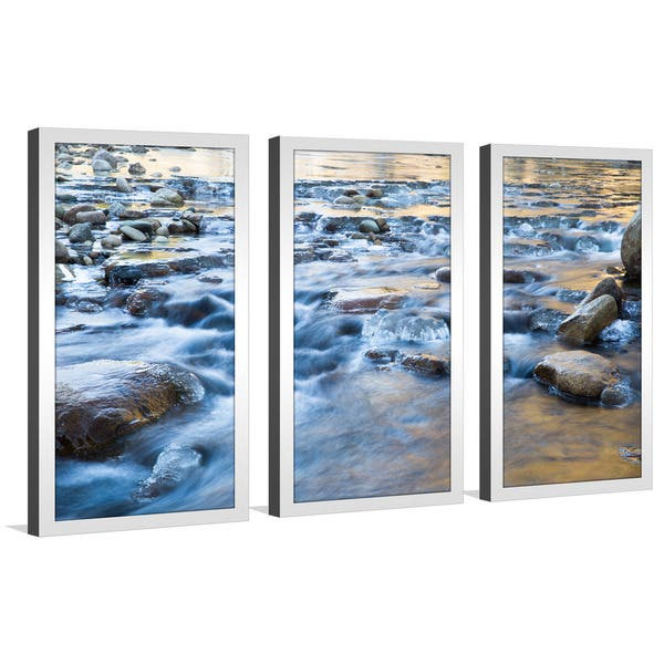 Water Framed Plexigl Wall Art