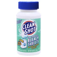 Clean Shot 828118 Fresh Linen Concentrated Bleach Tablets 32 Count