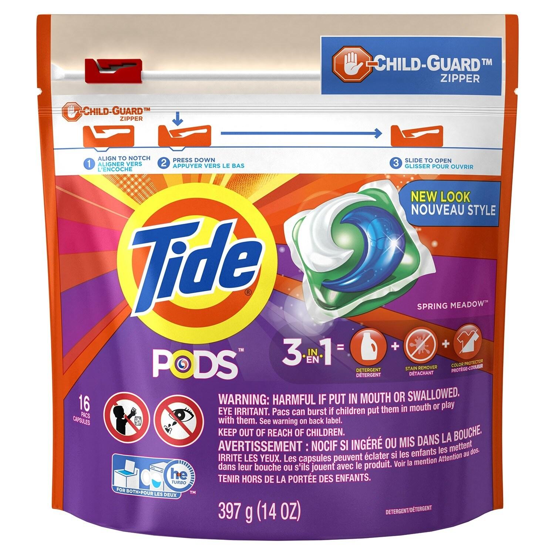 Jensen Tide 93120 Spring Meadow 3-In-1 Tide Laundry Deter...