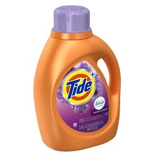 Tide 87565 69 Oz Spring & Renewal Tide Laundry Detergent With Febreze