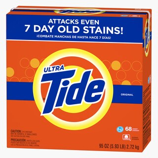 Tide 84997 95 Oz Original Scent Ultra High Efficiency Laundry Detergent
