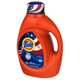 Tide 08886 100 Oz Orig Scent 2X High Efficiency Tide Liquid Detergent