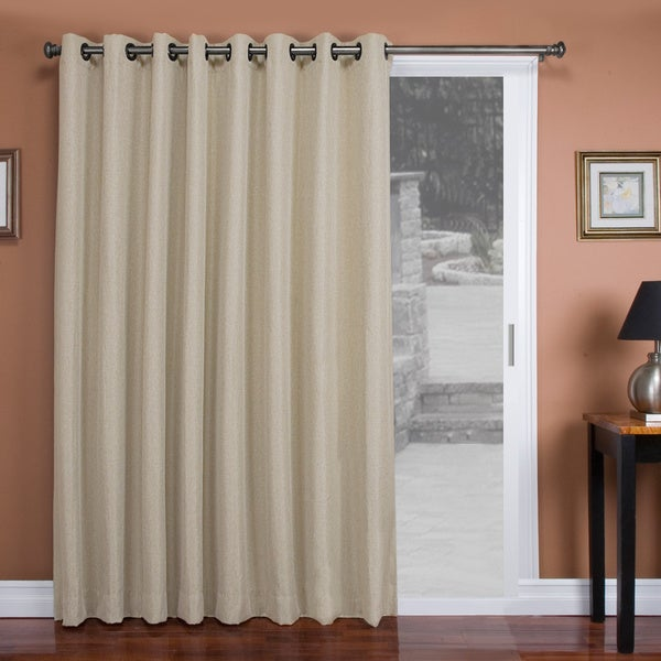 Tacoma Double Blackout Grommet Patio Curtain Panel Free