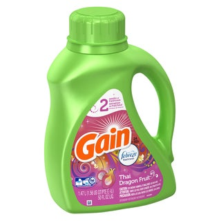 Gain 91927 50 Oz. Liquid Febreeze Detergent