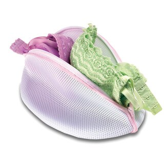 Whitmor 6154-987 White Mesh Bra Washing Bag