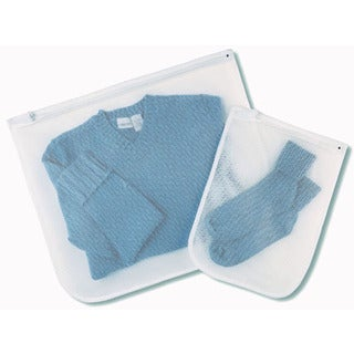Whitmor 6154-140 Set Of 2 Mesh Wash Bags
