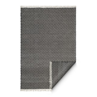 Fab Habitat Indoor/ Outdoor Eco-friendly Charcoal Lancut Rugs