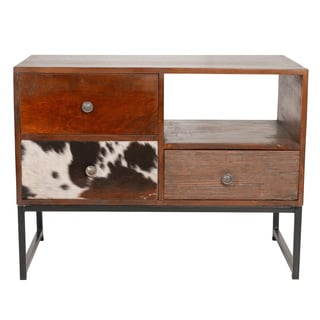 Vintage Rustic TV Entertainment Center Media Console (India)