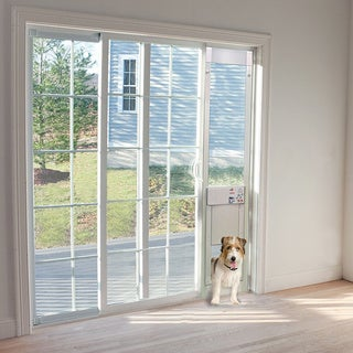 Large POWER PET Low-E Fully Automatic Patio Door - Regular Height