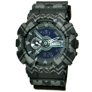 Casio G-Shock GA110TP-1A Men's Black Dial Watch