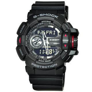Casio G-Shock GA400-1B Men's Black Dial Watch