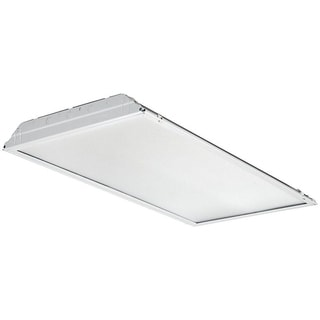 Lithonia Lighting 2GTL 4 60L EZ1 LP840 White 2-foot x 4-foot 6,000-lumen LED Lensed Troffer