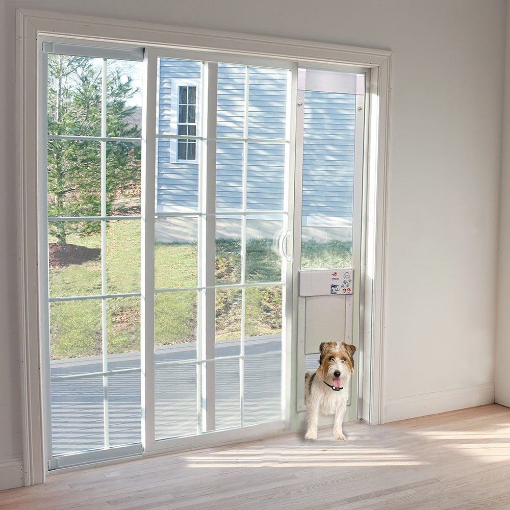 Large Power PET Low-E Fully Automatic Patio Door - Tall H...