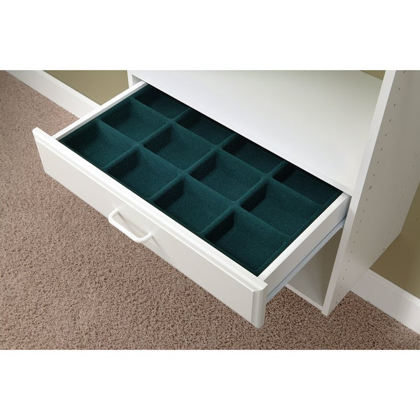 Easy Track White Easy Track Jewelry Or Hosiery Tray