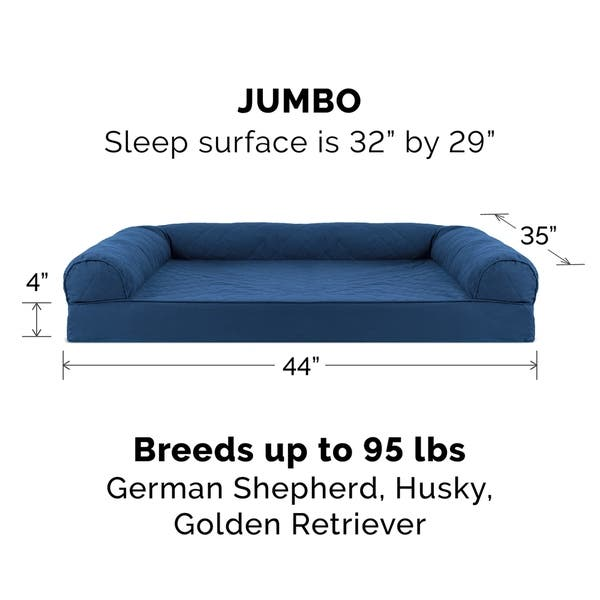 Swell Shop Furhaven Pet Bed Quilted Orthopedic Sofa Dog Bed Ibusinesslaw Wood Chair Design Ideas Ibusinesslaworg