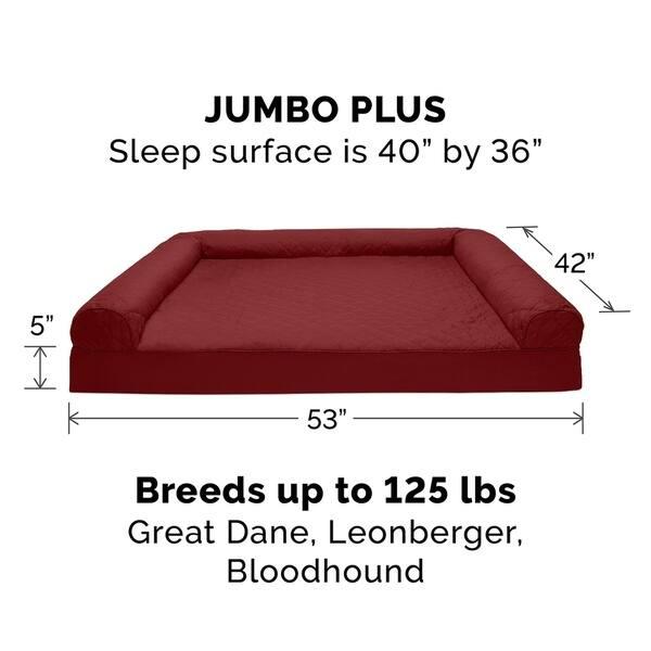 Groovy Shop Furhaven Pet Bed Quilted Orthopedic Sofa Dog Bed Ibusinesslaw Wood Chair Design Ideas Ibusinesslaworg
