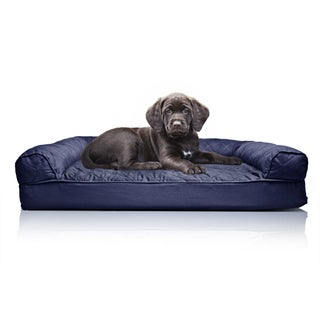 FurHaven Quilted Orthopedic Sofa-Style Pet Bed (More options available)