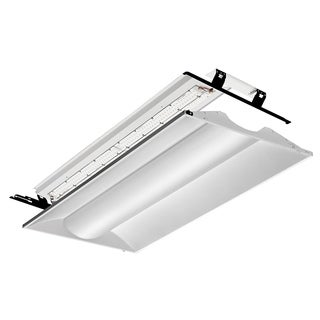 Lithonia Lighting 2VTL4RT 30L ADP EZ1 LP840 White 2-foot x 4-foot 4000K LED Architectural Troffer Relight Kit