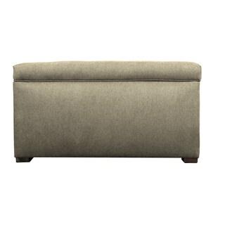 MJL Furniture Angela Dawson Button-tufted Storage Trunk Bench