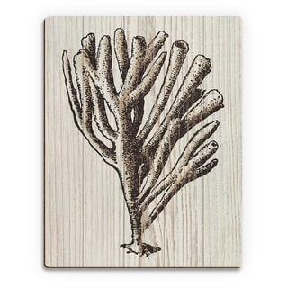 Brown Coral' Wood Wall Art