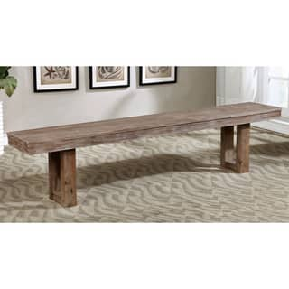 Furniture of America Treville Country Farmhouse Natural Tone Plank Style Dining Bench https://ak1.ostkcdn.com/images/products/12924571/P19678236.jpg?impolicy=medium