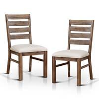 Carbon Loft Parsons Natural Tone Dining Chair (Set of 2)