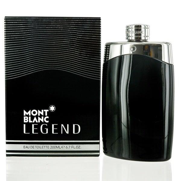 Mont Blanc Legend Eau De Toilette for Men 6.7 oz / 200 ml - Spray. Opens flyout.